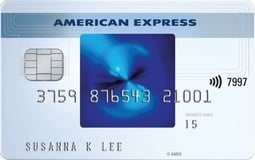 Detail blue cash credit card from american express