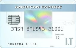 Detail american express i.t cashback card